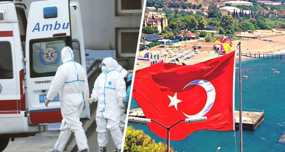В Турции поставлен новый антирекорд по числу погибших от Covid-19