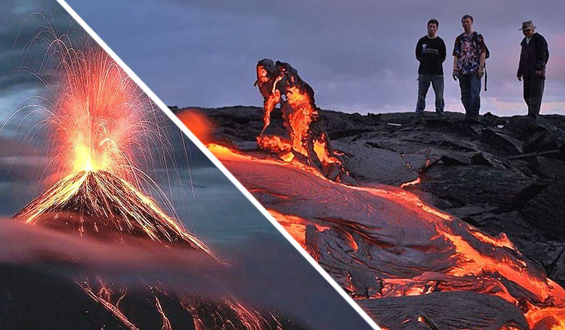 Тела туристов нашли недалеко от конуса извержения