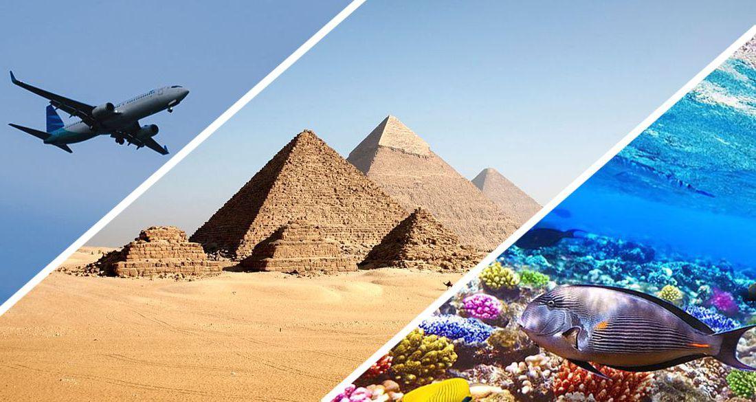Из Екатеринбурга начались прямые рейсы в Египет