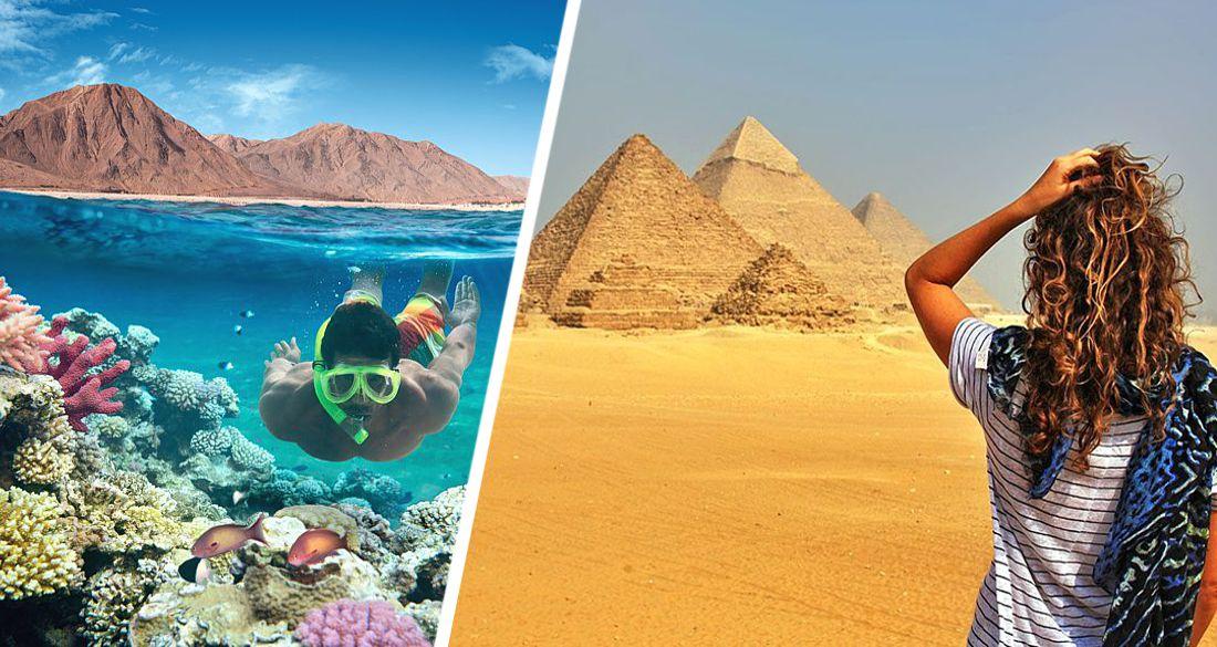 На курорты Египта накатила настоящая жара: в Шарм-эль-Шейхе +42°C, российских туристов встретит настоящее лето