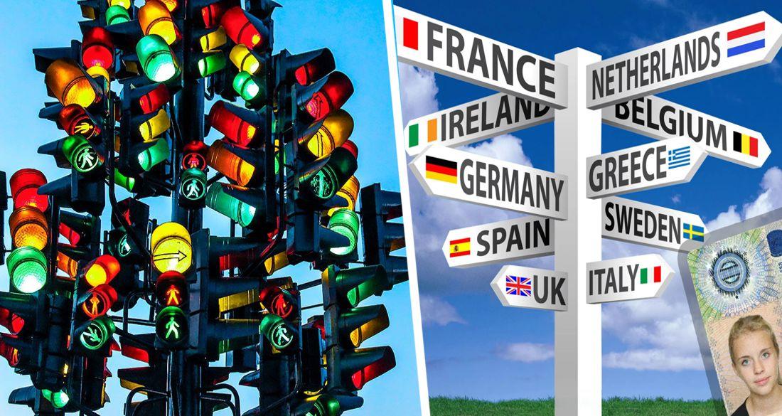 Самая популярная у туристов страна Европы открывается по системе светофора