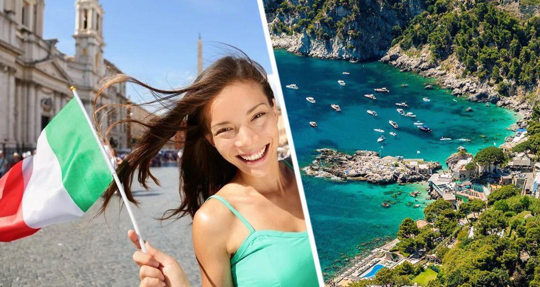 В Италии скоро появится территория, свободная от ковида, чтобы срочно начать международный туризм
