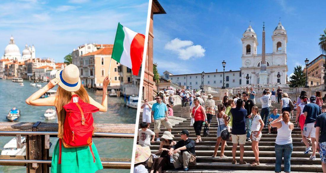 В Италии начинают открывать туризм: народ встал в очереди