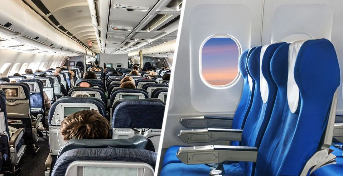 Почему в самолете лучше сидеть в начале салона: ученые дали ответ