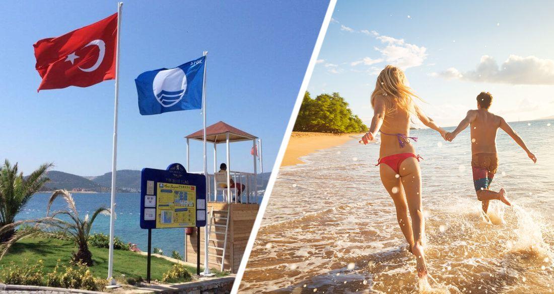 В Турции подсчитали число пляжей с голубым флагом: страна вышла на 3 место в мире