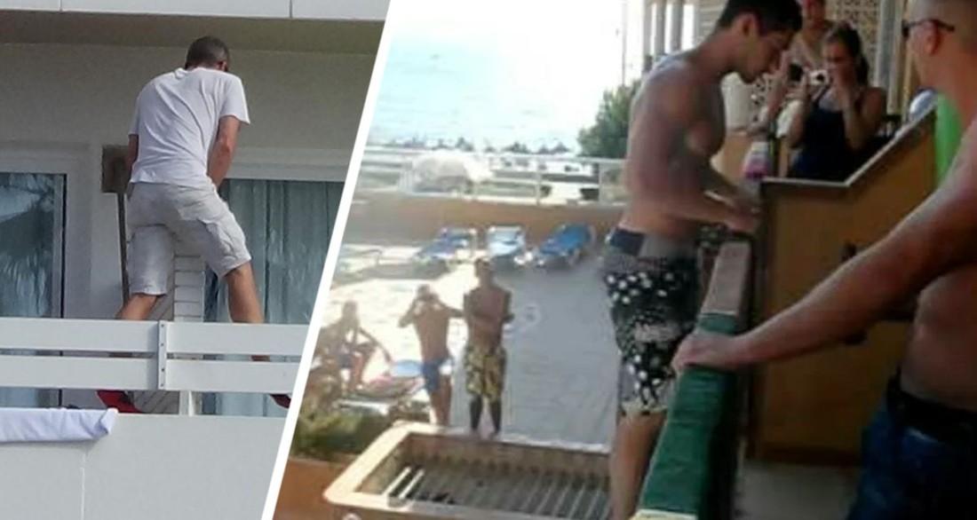 Турист прыгнул с балкона отеля в бассейн и промахнулся