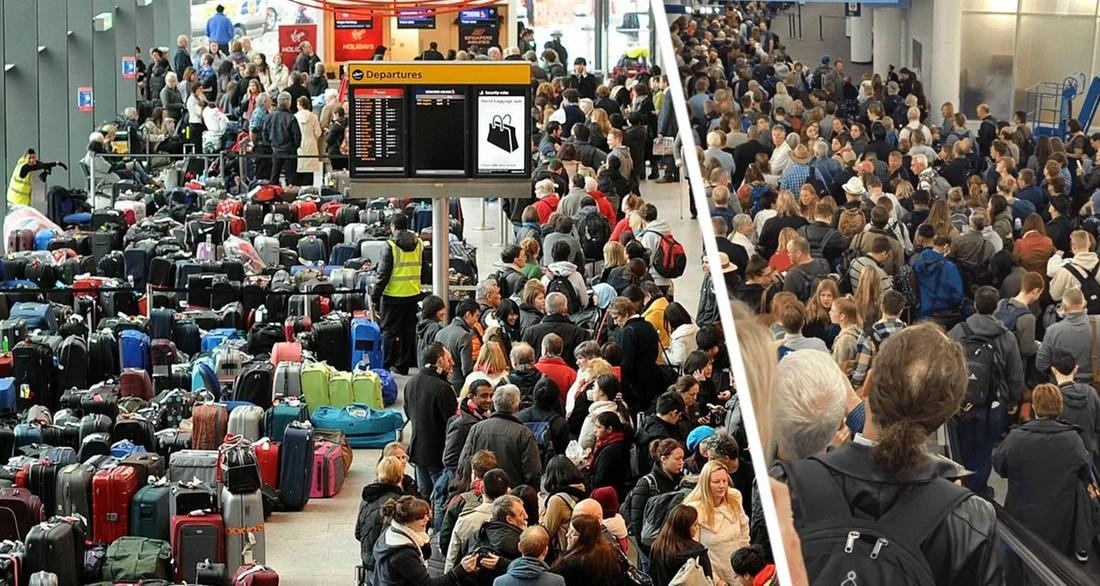 Коронавирус привёл к полному хаосу в аэропортах сразу двух стран