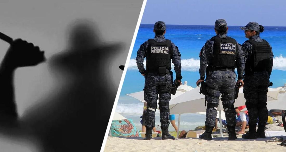 В загоравшую на пляже туристку угодила пуля от бандитской разборки