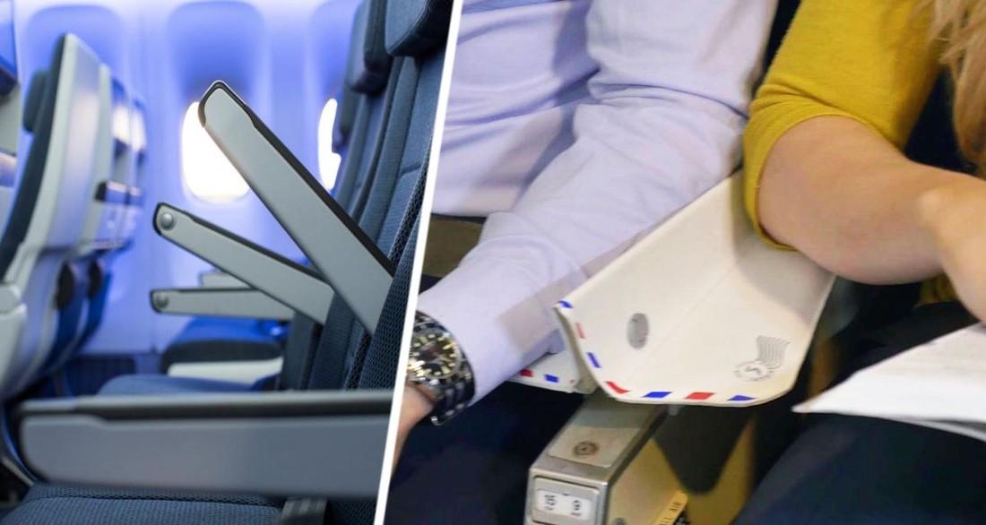 Туристам рассказали, как решить спор о подлокотниках в самолете