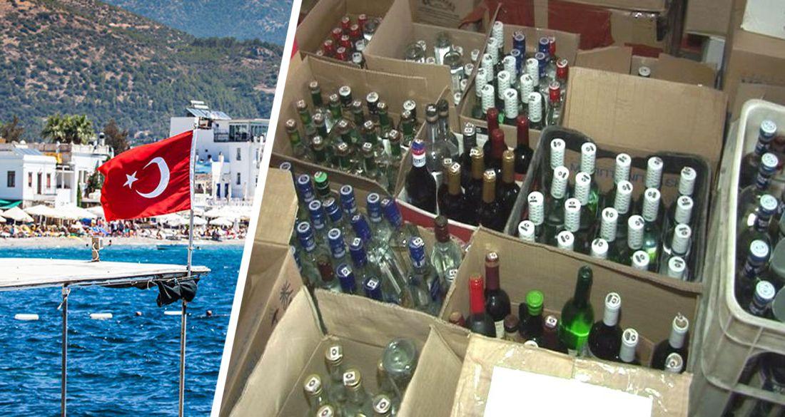 В Анталии начали гнать паленый виски для туристов