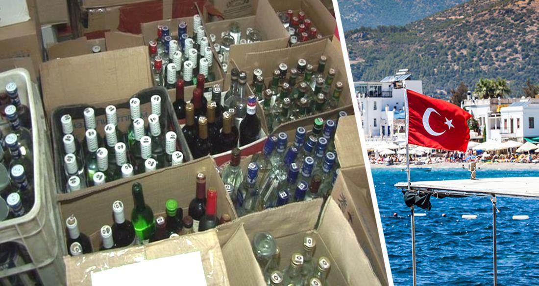 В Анталии туристов продолжают спаивать контрафактным алкоголем: полиция накрыла очередной бар в турзоне