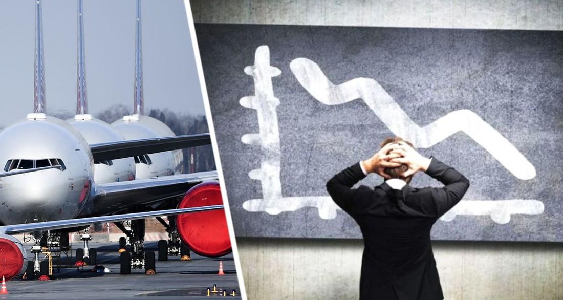 Европейские авиакомпании ждёт волна массовых банкротств