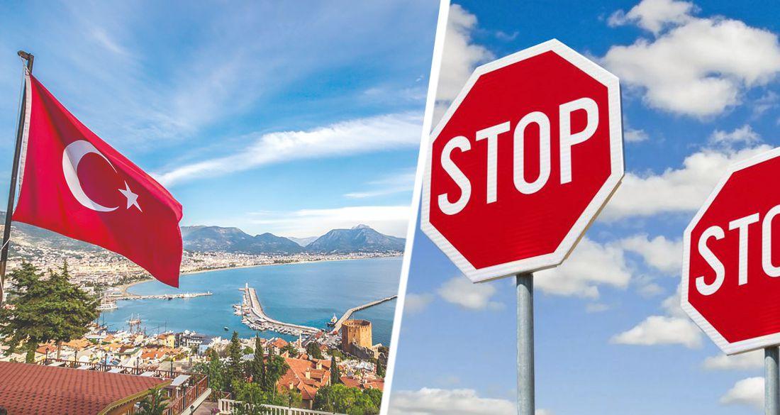 Началась массовая отмена туров в Турцию от основного поставщика туристов