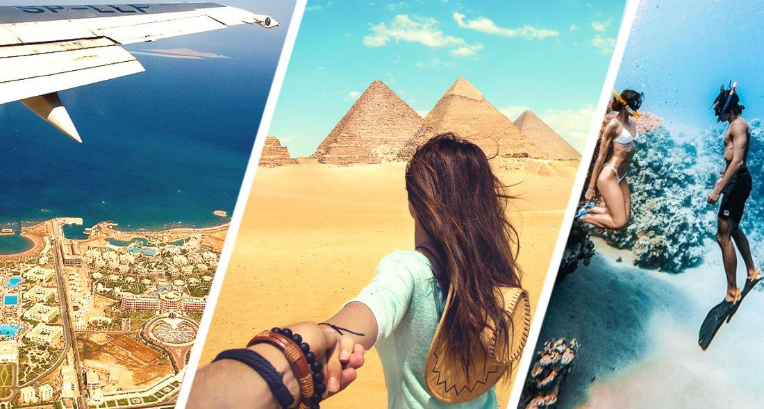 Российские туристы начали набег на Египет: Домодедово опубликовало ошеломляющие цифры