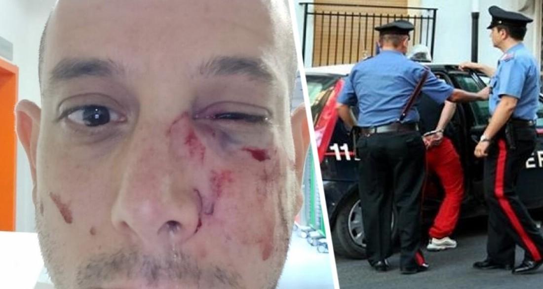 Турист сказал свою национальность продавцу сувениров и был им жестоко избит