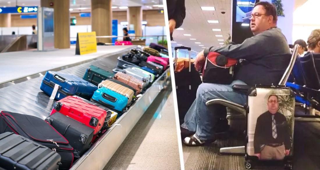 Рассказано о гениальном решении, чтобы никогда не потерять свой чемодан в аэропорту