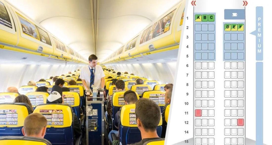 Названы 4 зловещие мистические цифры, которые авиакомпании убирают в самолетах
